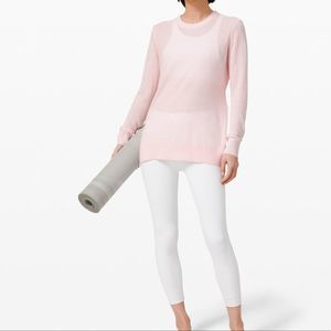LULULEMON PinknLong Sleeve Sweater 8